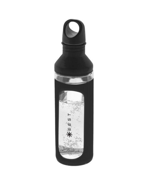 Hover glazen fles