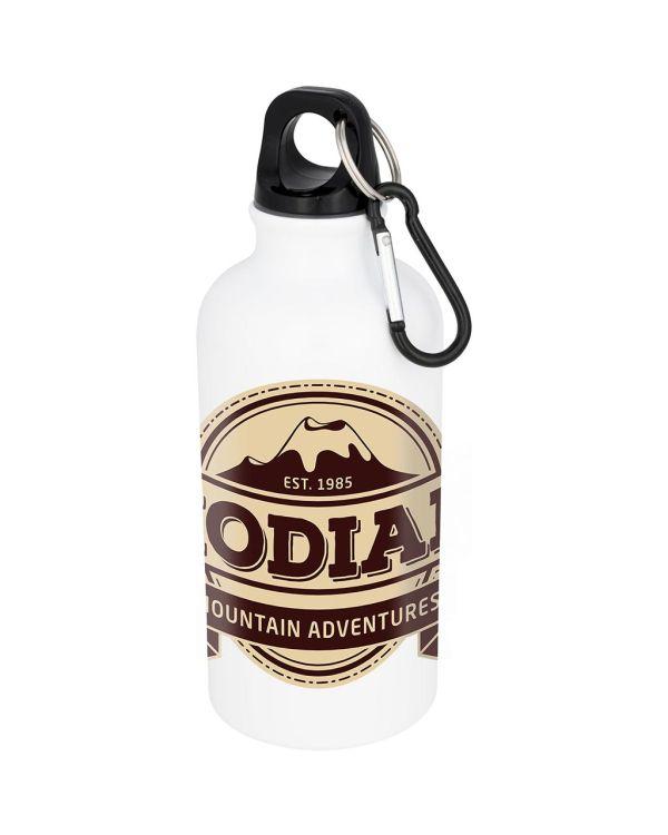 Oregon 400ml Sublimatie Drinkfles Met Karabijnhaak