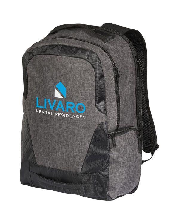 Overland 17 Inch Tsa Laptop Rugzak Met Usb Poort