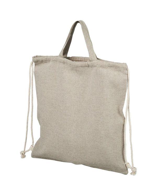 Pheebs 150 g/sq m Recycled Drawstring Backpack