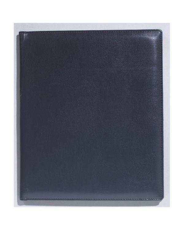 Witte bureau-agenda met ringband