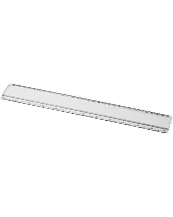 Ellison 30 Cm Kunststof Liniaal Met Papieren Inlay