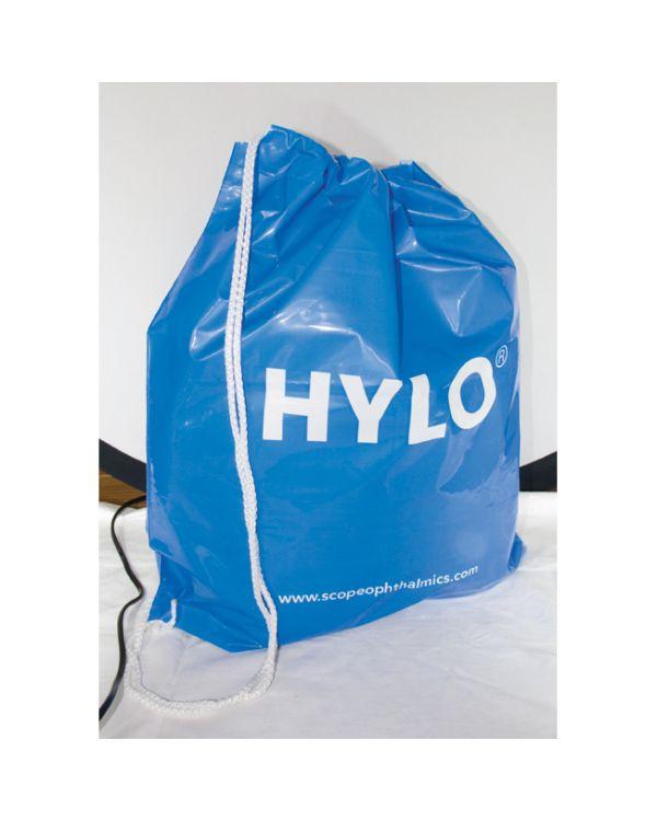 Polyethyleen draagtas, plunjezakstijl