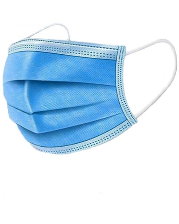 Gezichtsmasker 3 laags geweven