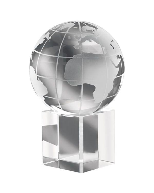 Mundi Presse-Papier Van Glas