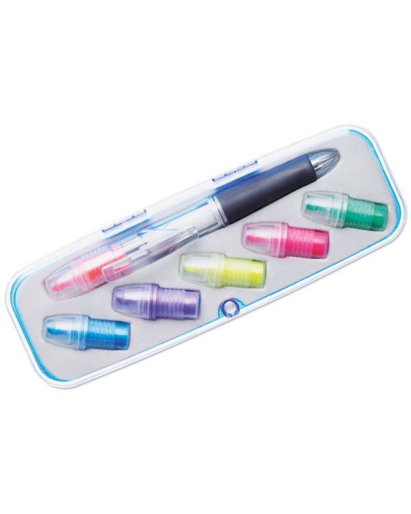 Comuto Markeerstift Set Met 6 Kleuren