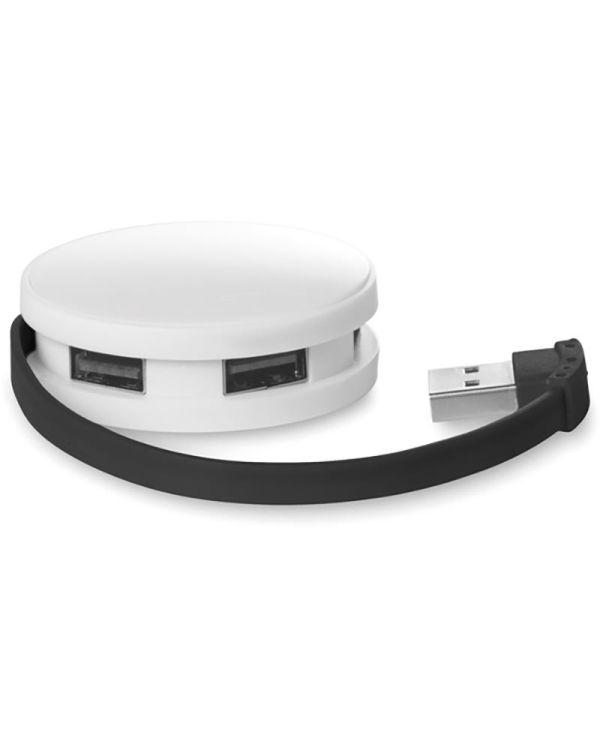 Roundhub 2.0 USB Hub Met Verlengsnoer