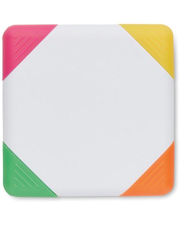 Squarie Markeerstift 4 Kleuren