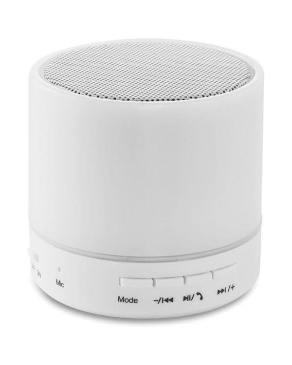 Round White Ronde Bluetooth Luidspreker