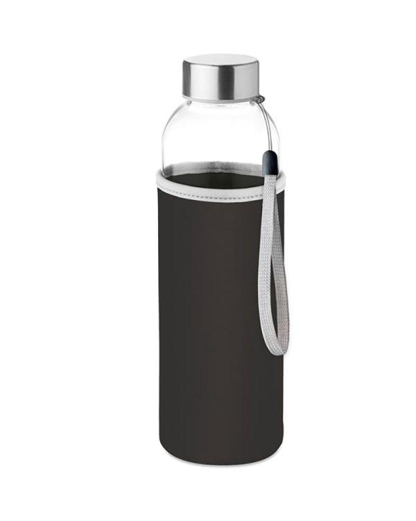 Utah Glass Drinkfles Met Neopreen Tasje