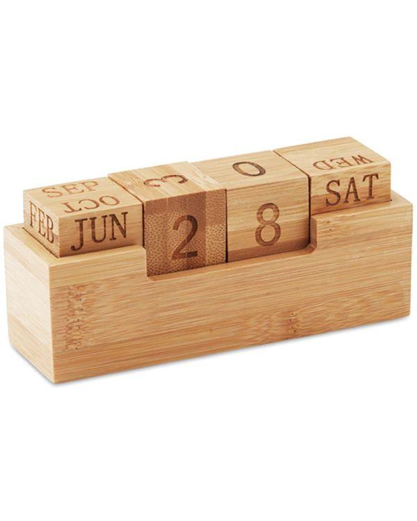 Karenda Bureaukalender Bamboo