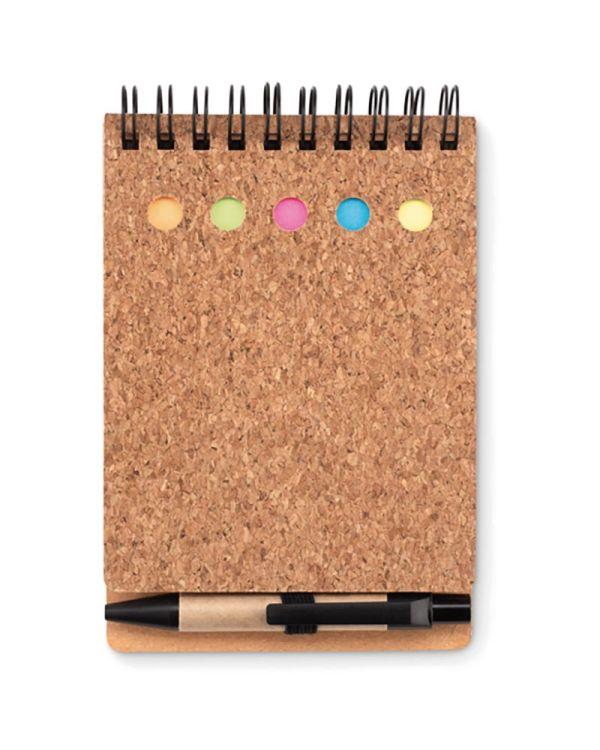 Multicork Memoboekje Met Sticky Notes