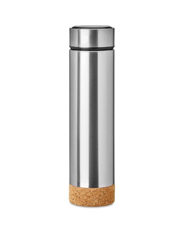 Pole Cork Dubbelwandige Drinkfles Kurk