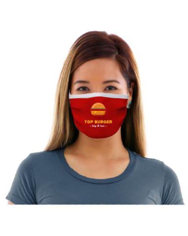 Bedrukt gezichtsmasker
