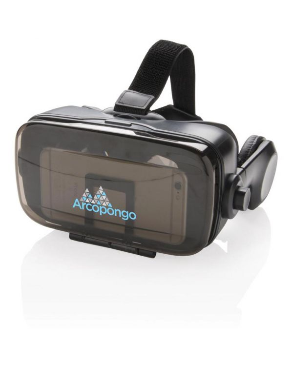 VR-Bril Met Geïntegreerde Hoofdtelefoon